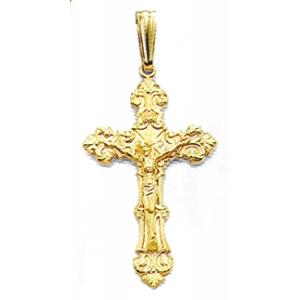 Fancy Elaborate Crucifix at www.SunshineJewelry.com